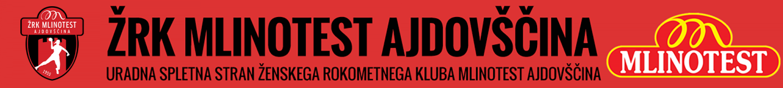 Uradna spletna stran ŽRK Mlinotest Ajdovščina
